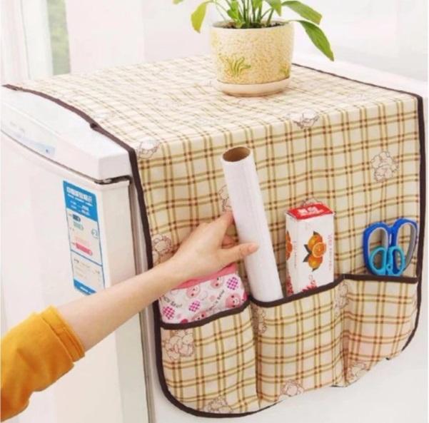 Hình ảnh Tấm phủ tủ lạnh, phủ bàn, phủ tủ tiện dụng giá sỉ