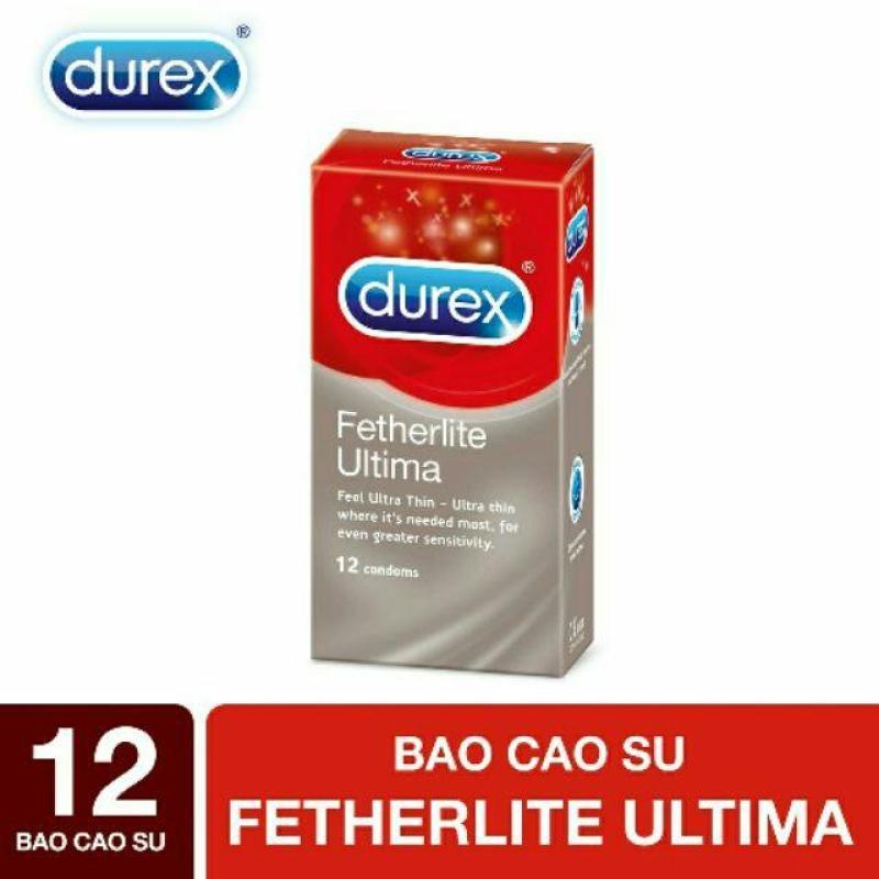 Bao cao su Durex Fetherlite ultima (BCS 103) 12 bao cao cấp