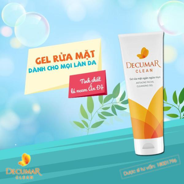 Decumar Clean 100g nhập khẩu