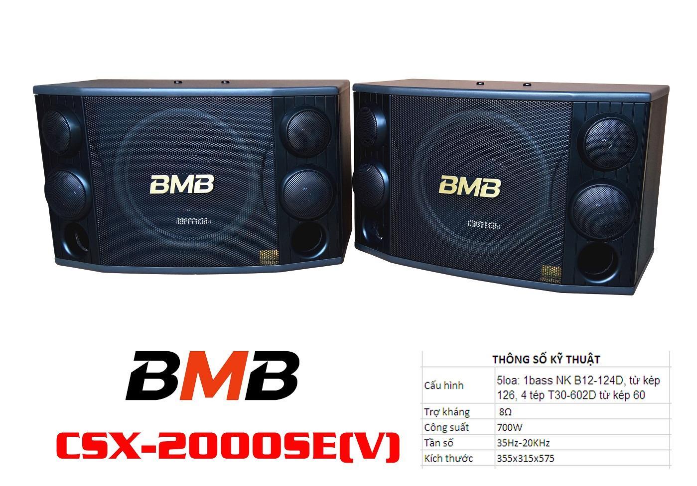 loa karaoke CSX-2000SE(V)
