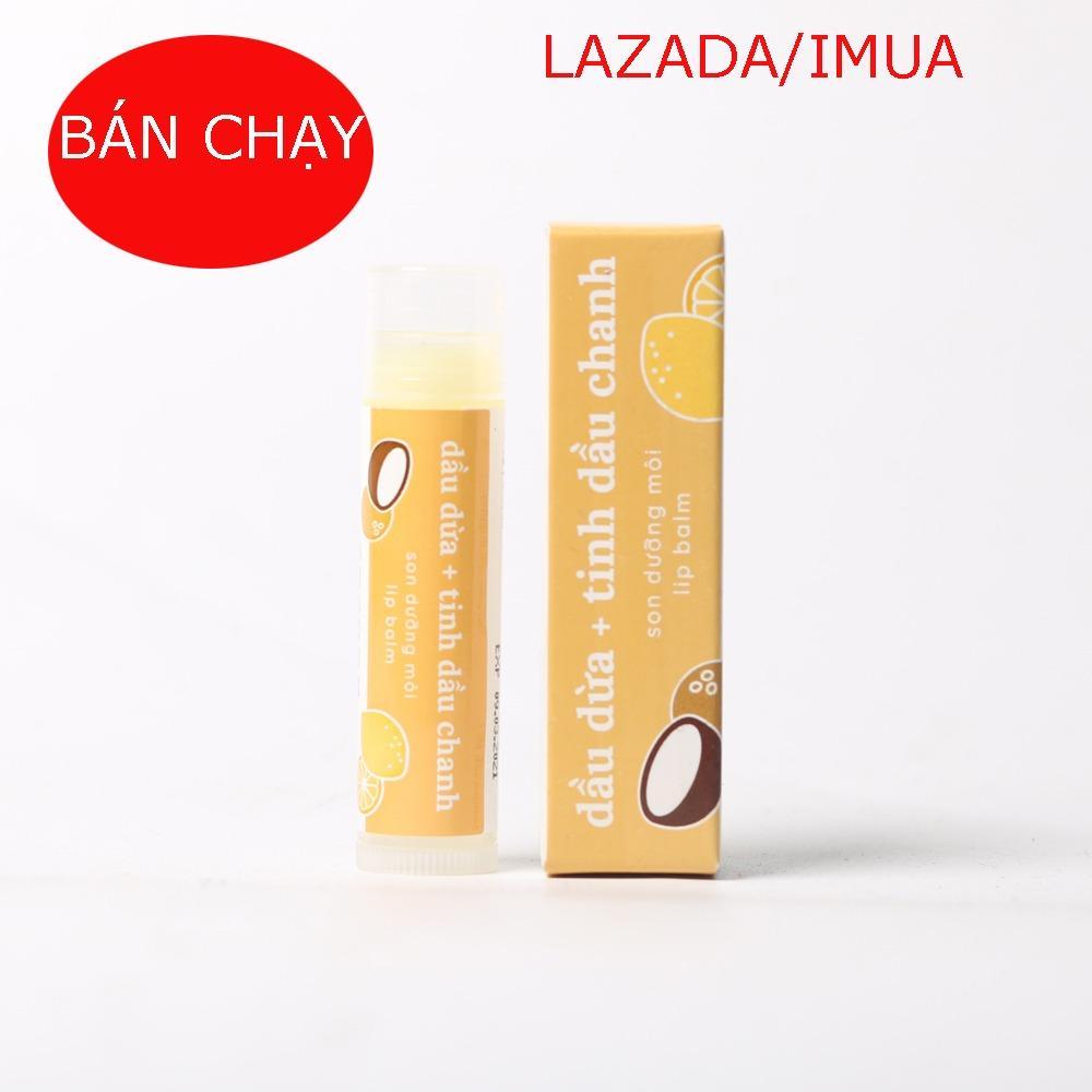 son dưỡng môi Lip Balm ( Lipcare) cocoon mẫu mới