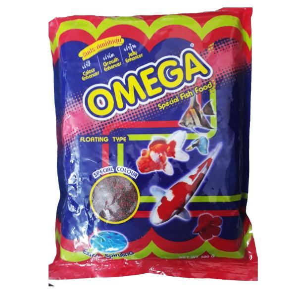 Thức Ăn Cá Omega (Viên Nhỏ) 500g - Cám Cá Cảnh