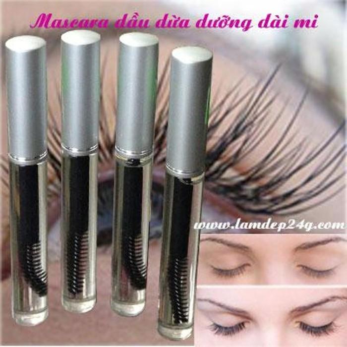 Hình ảnh Mascara Dầu Dừa Dưỡng Mi