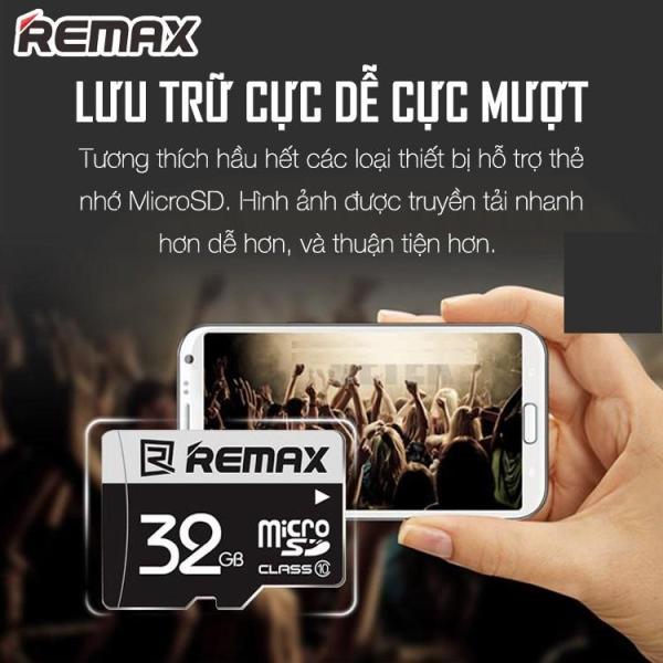 Thẻ Nhớ MicroSD REMAX 32GB Tốc Độ Class 10