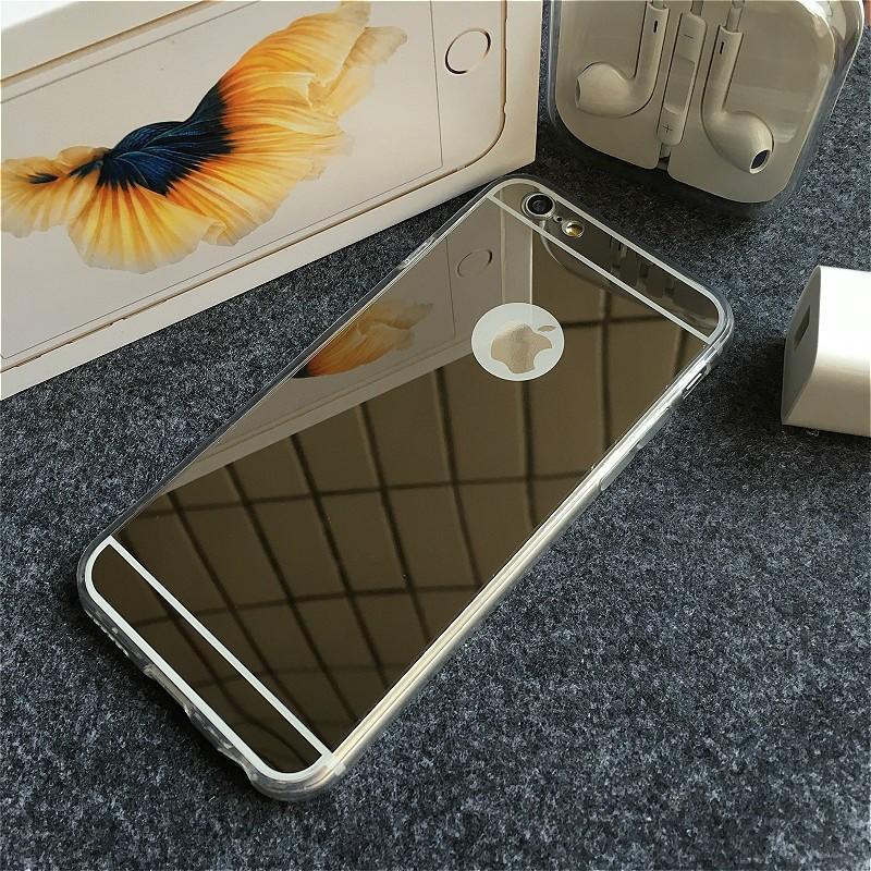 Ốp lưng silicon dẻo tráng gương iPhone 4/4s, 5/5s, 6/6s, 6 Plus/ 6s Plus