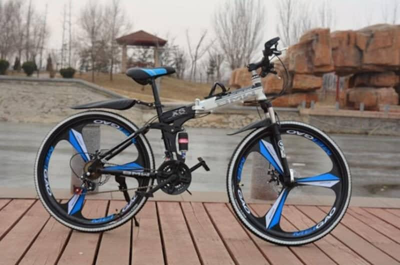 Xe đạp địa hình gấp HaHoo