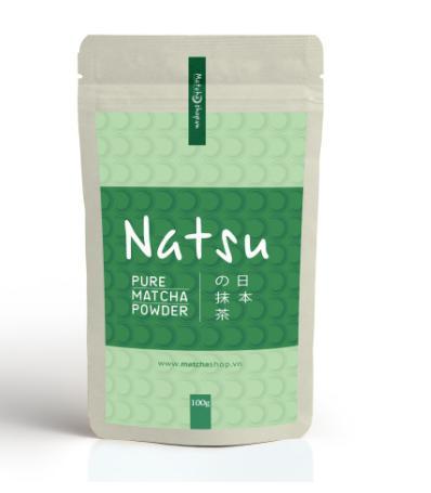 Bột trà xanh Matcha Natsu Thông dụng 100g