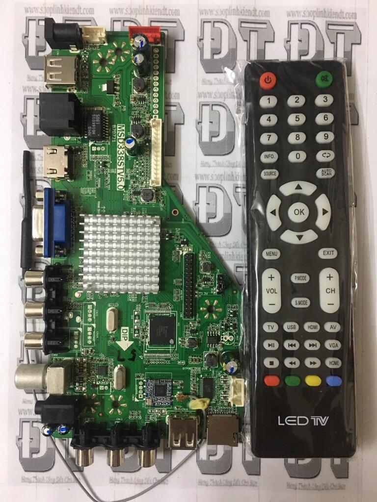 Hình ảnh Bo tivi đa năng MSD338STV5.0 có WIFI bản 1GB RAM