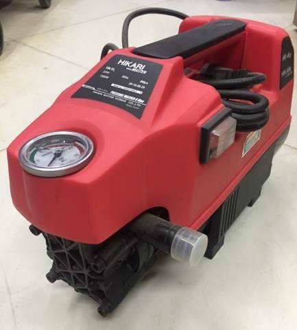 Máy rửa xe áp lực HK-H2 Hikari Madein Thailan  màu đỏ tươi