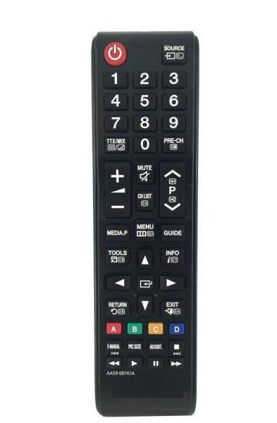 ĐIỀU KHIỂN REMOTE TIVI SAMSUNG DÒNG AA59 TIVI LCD/LED (ĐEN-NGẮN)