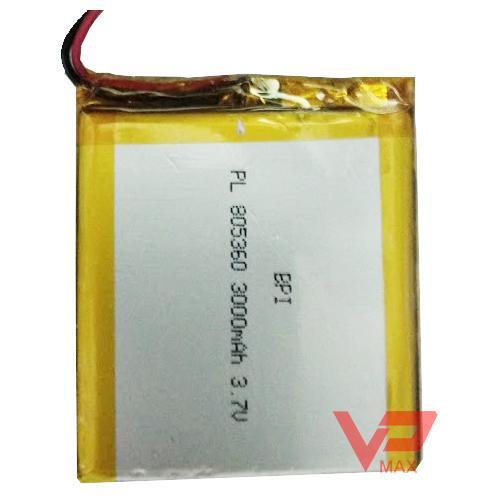 Hình ảnh Pin Polymer 805360 3.7V - 3000 mah hàng USA siêu bền kèm mạch sạc tự ngắt