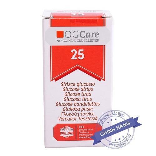 Nơi bán Combo 2 lọ que thử đường huyết OGCARE (50 que)