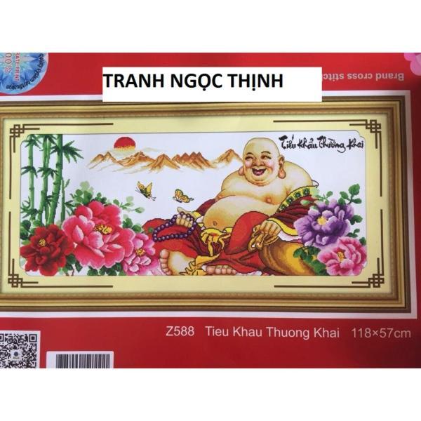 Tranh thêu chữ thập Dillac tiếu khẩu Trường khai DLH-YZ588-Ngọc Thịnh
