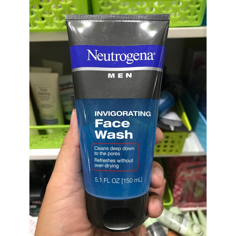 Sữa Rữa Mặt Lam Sạch Danh Cho Nam Neutrogena Men Invigorating Face Wash 150Ml Mới Nhất