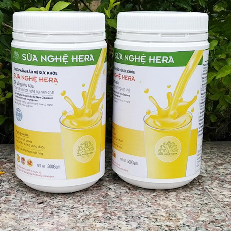 Cửa Hàng Sữa Nghệ Hera Hộp 500Gam Rẻ Nhất