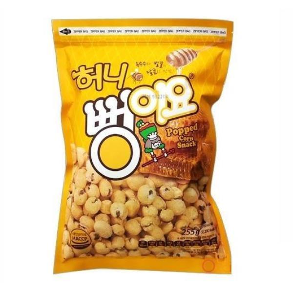 Bỏng ngô vị mật ong Hàn Quốc hiệu BBongjyo – gói 255g