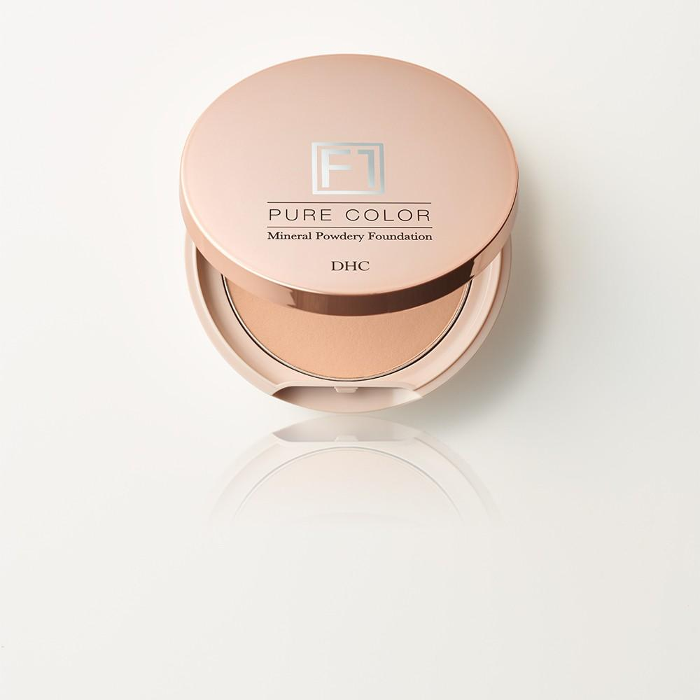 Lõi Phấn Khoáng Kèm Mút Trang Điểm DHC Mineral Powdery Foundation Pure Color [F1] Natural Ocher 02 tốt nhất