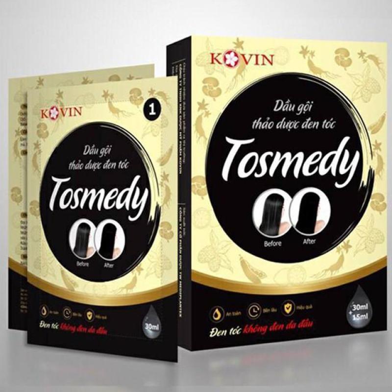 Dầu gội thảo dược đen tóc Tosmedy 45ml giá rẻ
