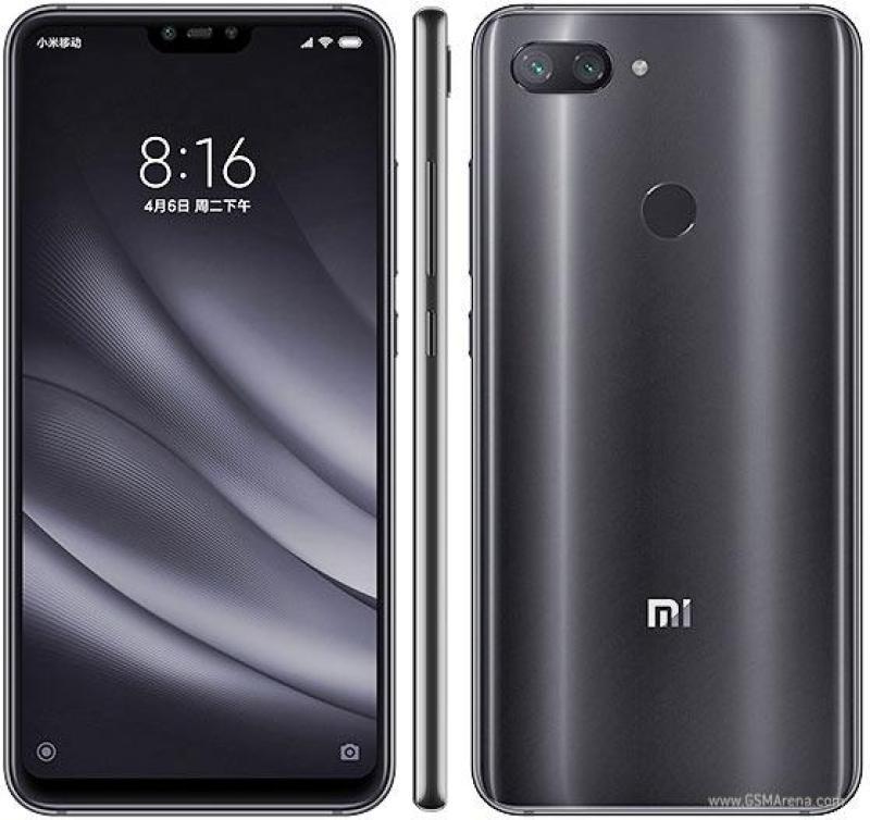 Xiaomi Mi 8 Lite 64GB Ram 4GB (Xám) Digiphone - Hàng nhập khẩu