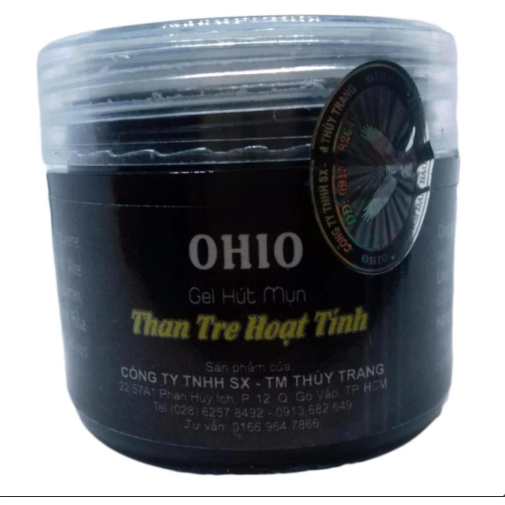 Gel Hút Mụn Ohio - Gel Than Tre Hoạt Tính - Hút Tận Gốc Các Loại Mụn nhập khẩu