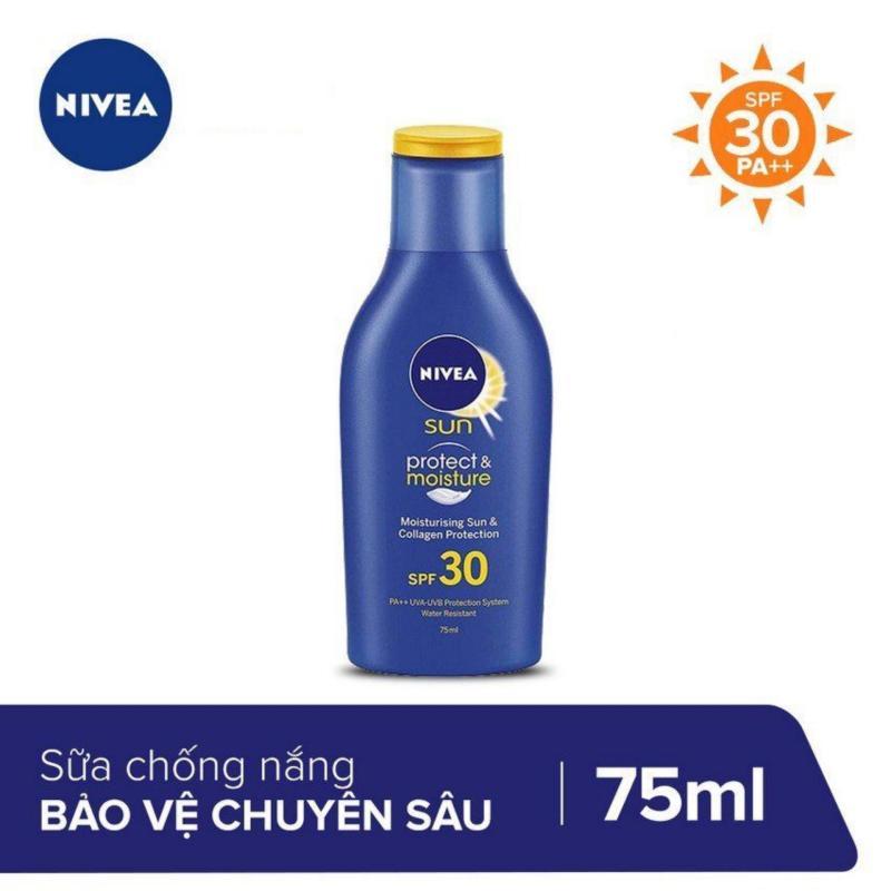 Sữa Chống Nắng Bảo Vệ Da Chuyên Sâu Nivea SPF30 PA++ 75ml _ 85597 nhập khẩu