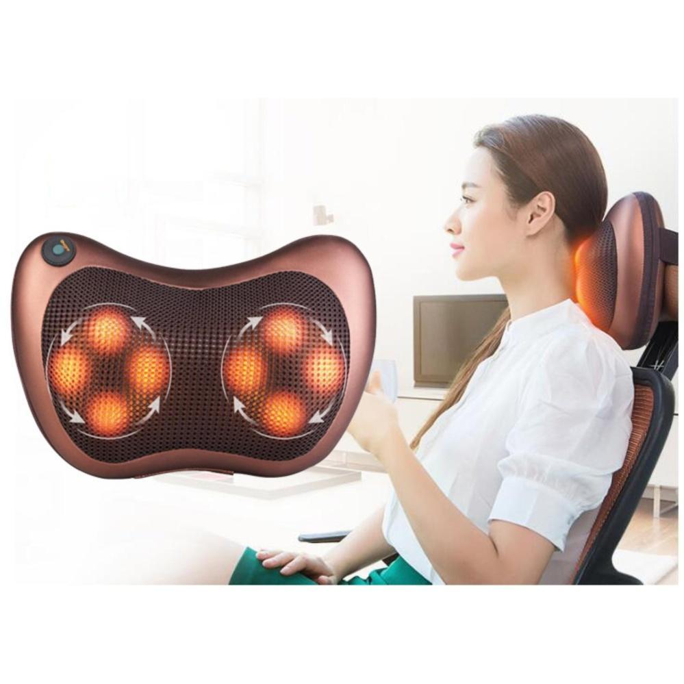 Nệm Massage Toàn Thân Bella, Masage đa năng cao cấp HDVision 1402, cách sử dụng máy massage mặt mini - Gối Massage 8 Bi Loại Đắt Chất Lượng Cao, Bảo hành uy tín, Hàng Nhập Khẩu