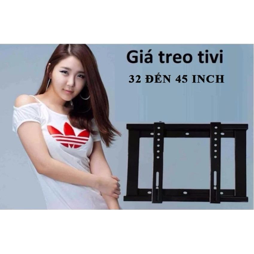 Hình ảnh Giá treo tivi phẳng ôm sát tường - từ 32' đến 45'