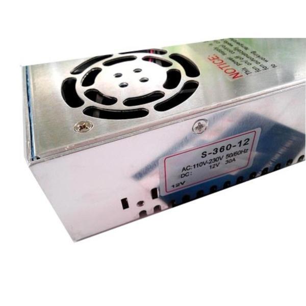 Bảng giá Bộ adapter chuyển đổi nguồn 12V-30A (DC) (tổ ong) Phong Vũ