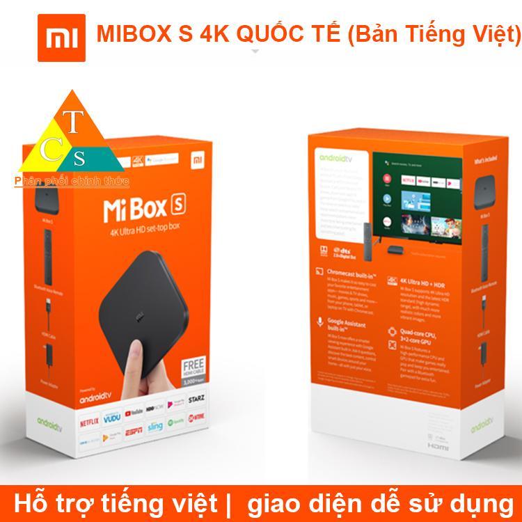 Bảng giá MIBOX S 4K QUỐC TẾ (Bản Tiếng Việt) BH 3 Tháng