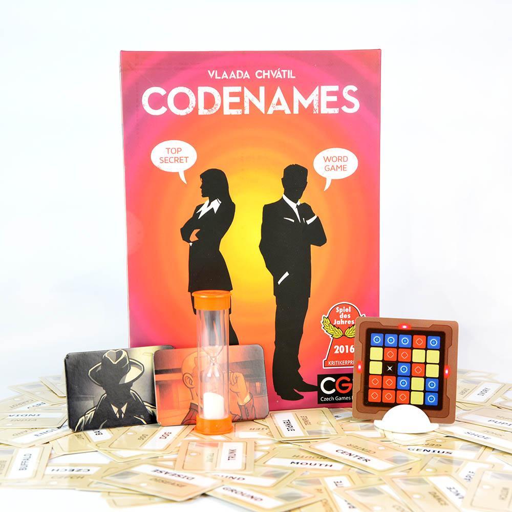 Hình ảnh Bộ trò chơi Boardgame Codenames Words (ENG) bản Tiếng Anh