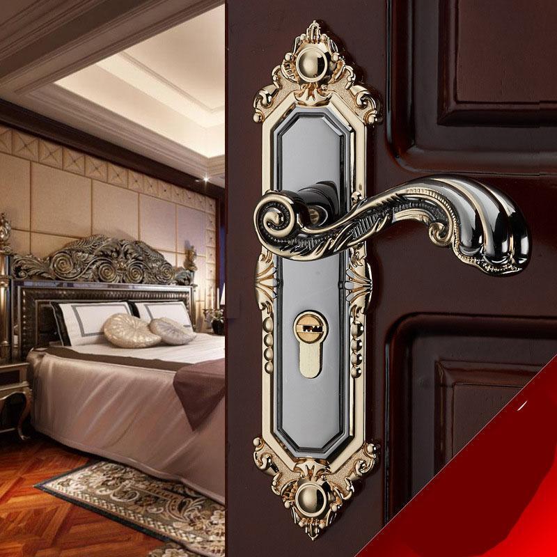 Khóa cửa tay gạt sang trọng cho chung cư, biệt thự, nhà riêng - Khóa thông phòng phong cách Châu Âu