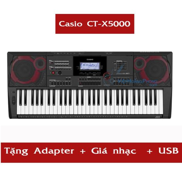 Đàn Organ Casio CT-X5000 kèm USB + AD + Giá nhạc ( CTX5000 ) - HappyLiveShop