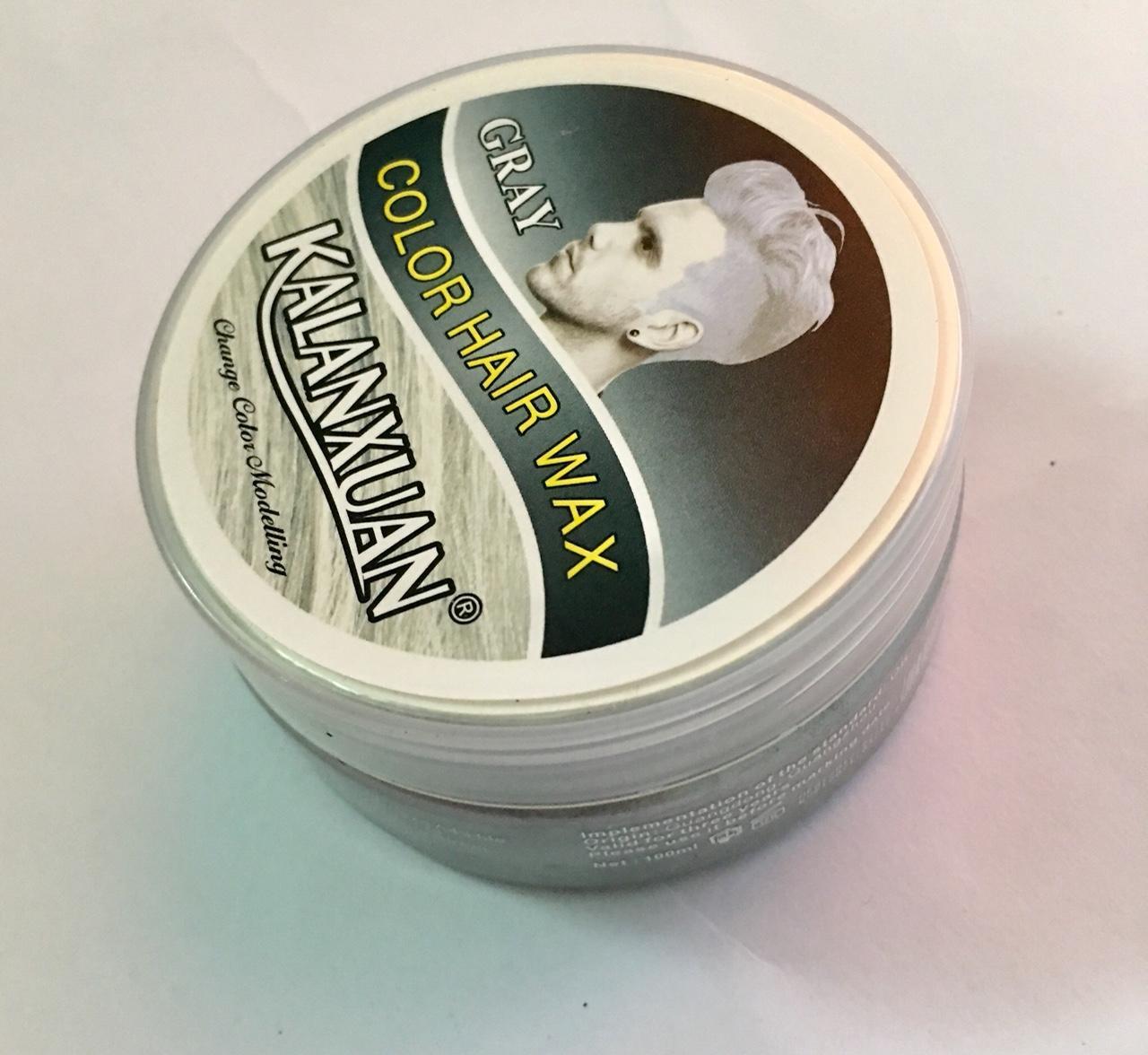 Sáp vuốt tóc tạo màu xám khói (Gray)