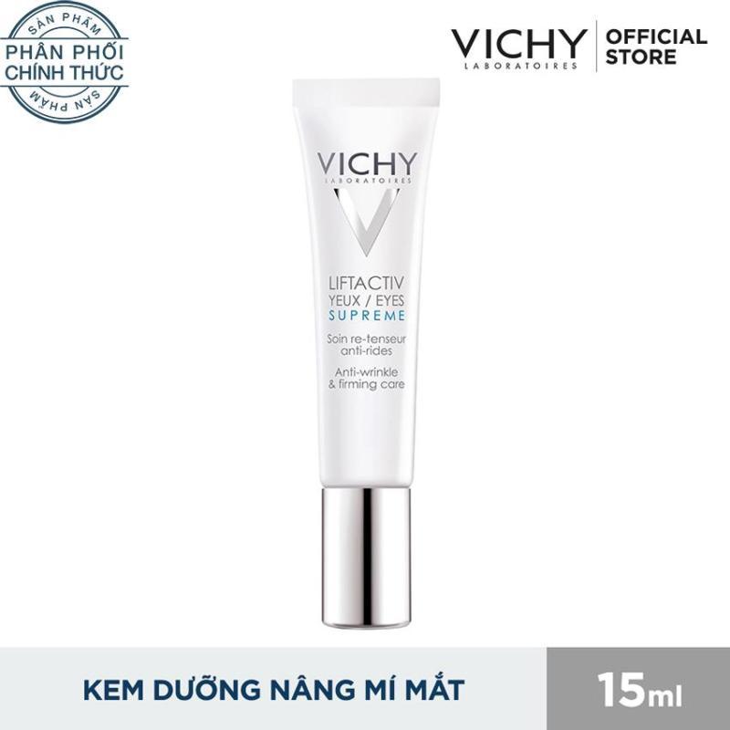 Kem dưỡng giảm nhăn và nâng mí mắt Vichy LiftActive Source Cream 15ML