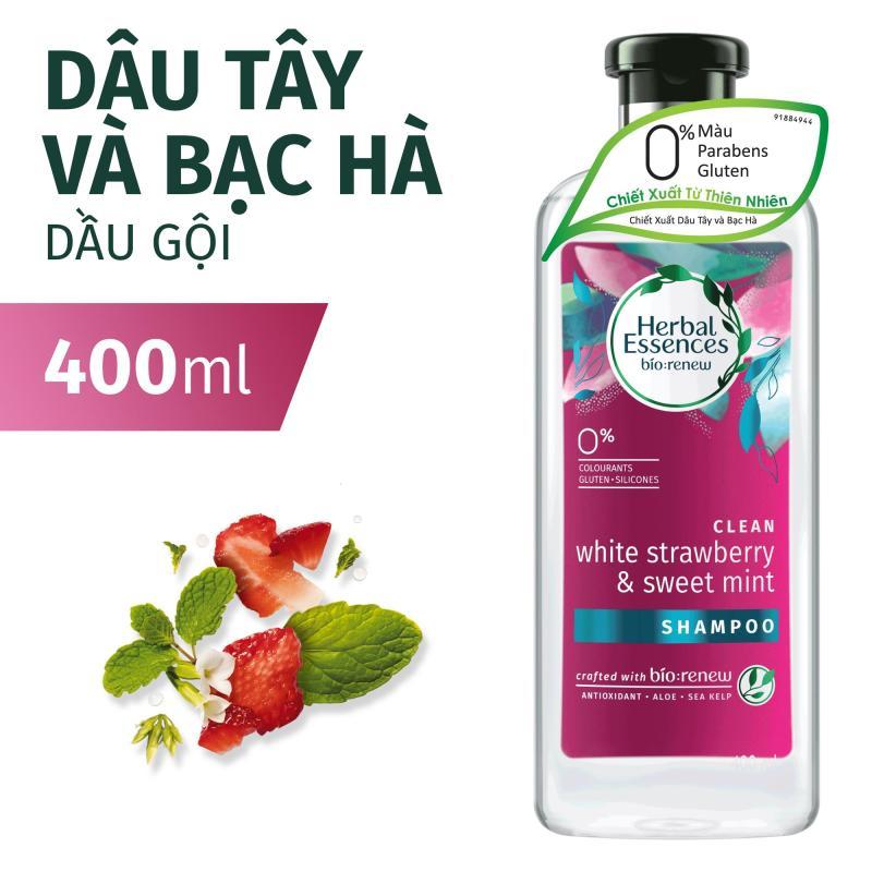 Dầu Gội Herbal Essences Dâu Tây & Bạc Hà 400ml giá rẻ