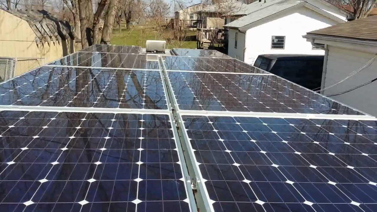 hệ thống điện mặt trời hòa lưới MONO 10kw xuất xứ châu âu .