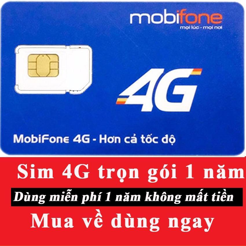 Mua Sieu Hot Sim 4G Mobifone Mdt250A Trọn Goi 1 Năm Khong Cần Nạp Tiền Mobifone 4G Nguyên