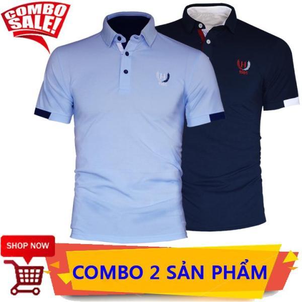 COMBO 2 Áo Thun Nam Thêu Logo 1985 Cực Đẹp Vải thun cotton 65/35 chất lượng cao, bền đẹp, mạnh mẽ, khỏe khoắn