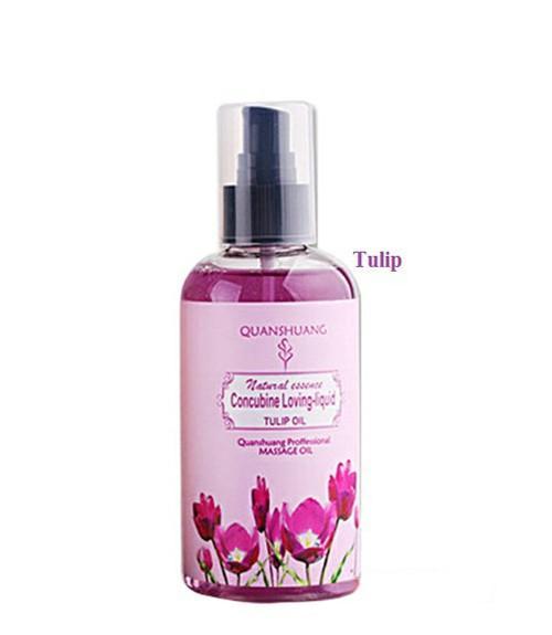 Dầu Bôi Trơn Và Massage Cơ Thể Hương Tulip nhập khẩu