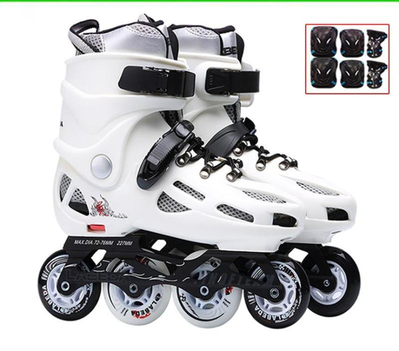 Phân phối Đế trượt patin, Giày  giá rẻ, Giầy trượt Patin Labeda được thiết kế với kiểu dáng hài hòa, fom giày ôm gọn chân tạo nên sự chắc chắn cho người tập, BH 12T, M392