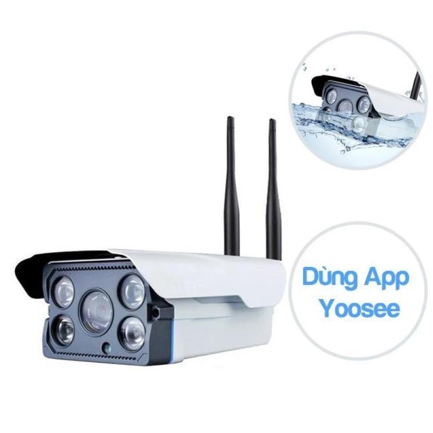 Ôn Tập Trên Camera Ip Yoosee X5300 Khong Day Wifi Ngoai Trời Chống Nước Co Hồng Ngoại