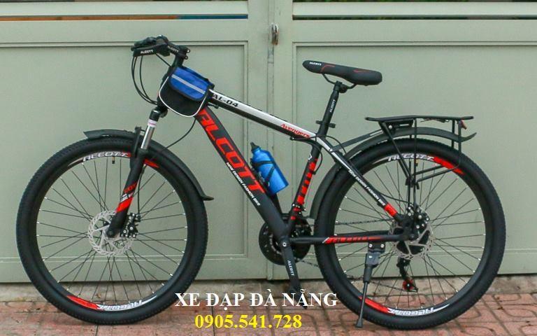 Mua xe đạp Alcott 26AL-04 màu xám đỏ, nhập từ Thái Lan