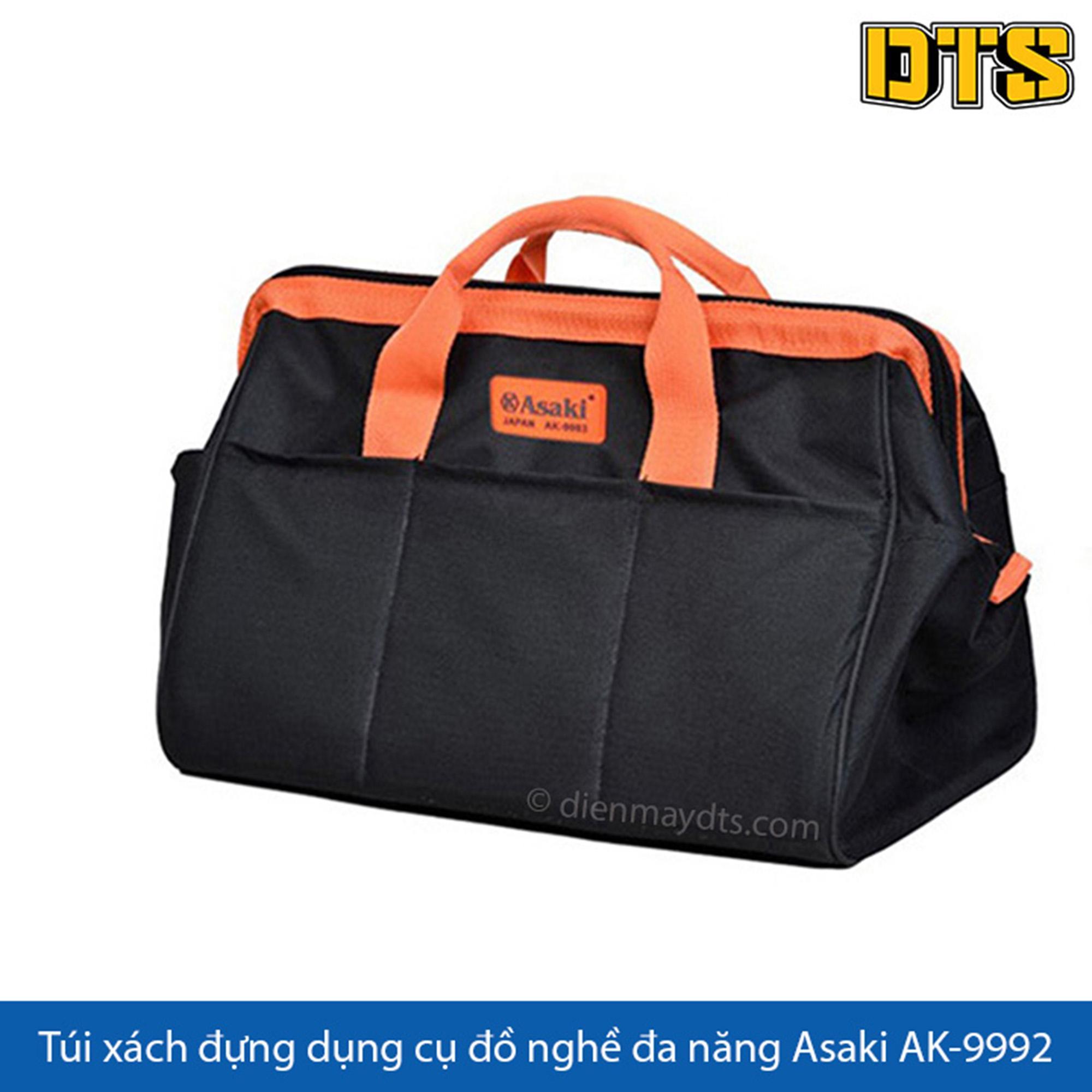 Túi xách đựng dụng cụ đồ nghề đa năng Asaki AK-9992