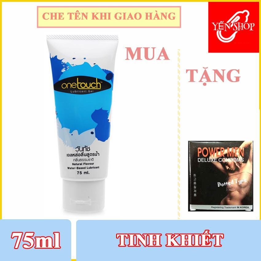 Gel bôi trơn gốc nước One Touch Thái Lan 75ml Tặng Bao gai 3c (YSGBT) nhập khẩu