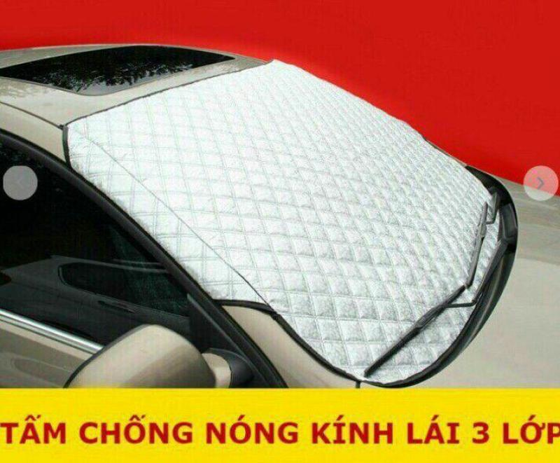 Tấm chống nóng kính lái ô tô 3 lớp