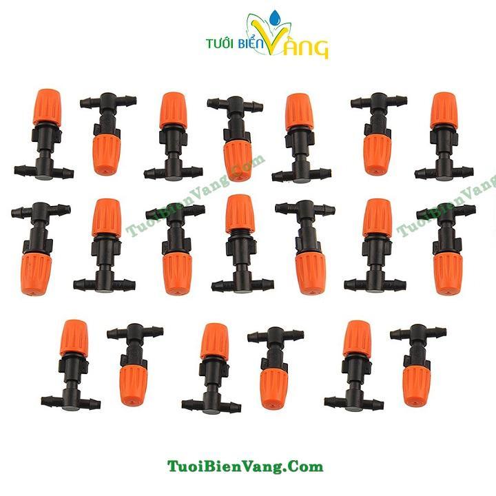 Bán 20Pcs Diy Micro Drip Irrigation Plant Self Watering Garden Hose Sprinklers Intl Rẻ