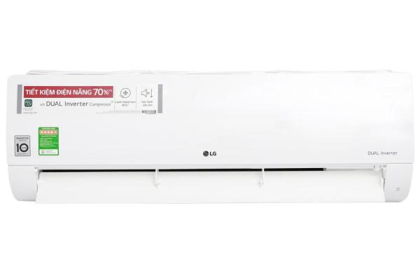Điều hòa 1 chiều inverter LG V24ENF 2.5 HP/24.000BTU phạm vi làm lạnh 30-40m2, lọc bụi, kháng khuẩn, khử mùi