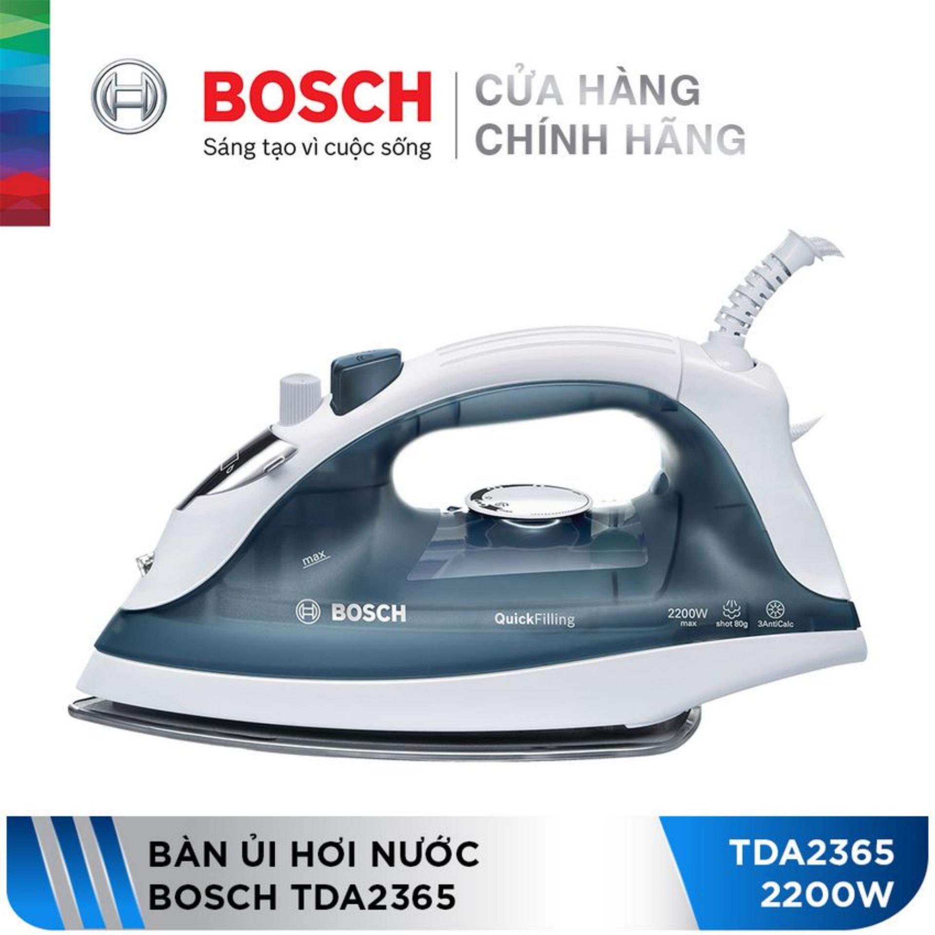Bàn ủi hơi nước Bosch TDA2365 (2200W)