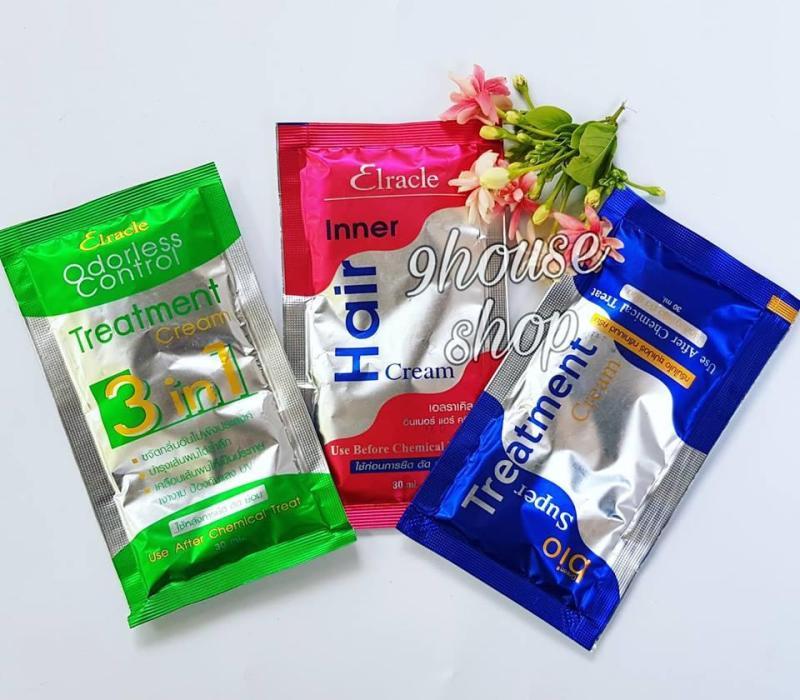 01 Gói Ủ Tóc Bio Treatment Thái Lan (XANH DƯƠNG) Dành Cho Tóc Khô Xơ nhập khẩu