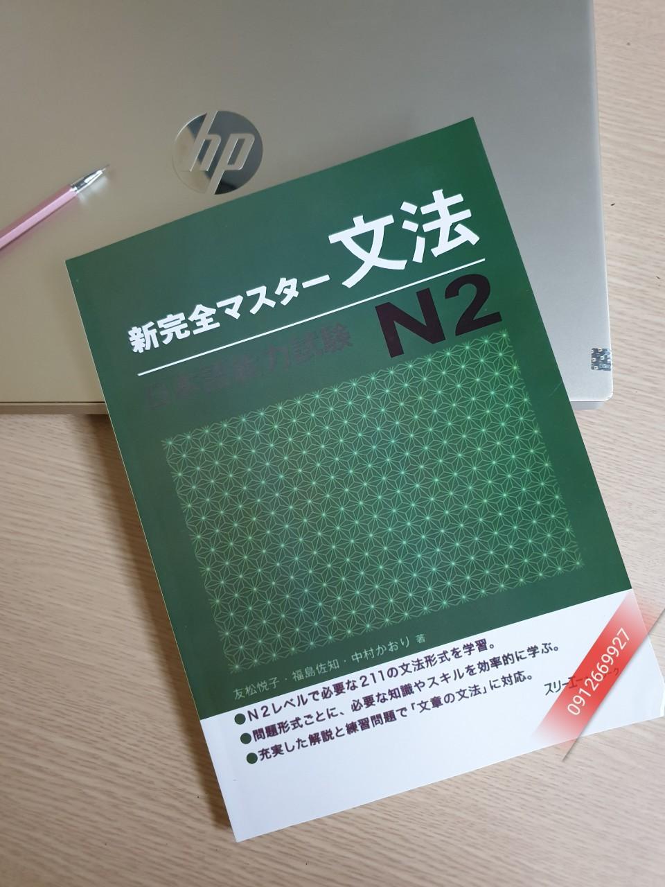 Mua Sách Shinkanzen master N2-Ngữ Pháp